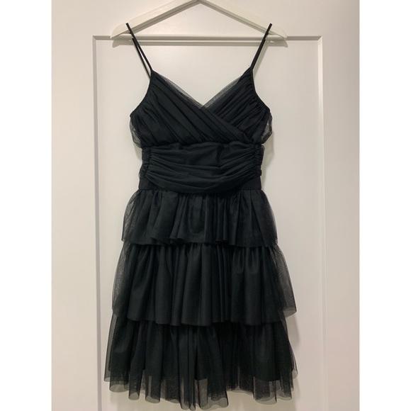 Maje Dresses Robe Fines Bretell Black Dress Sz T1 Rtl570 Poshmark